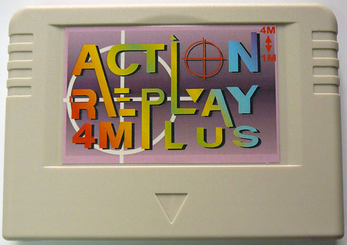 ... SS Saturn Action Replay 4M Auto Plus Import player Cheat Codes System Memory Expansion Memory Card